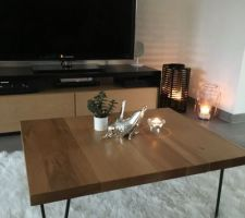Nouvelle table