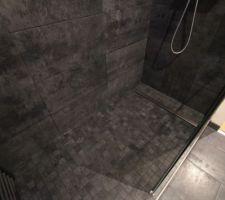 Nouvelle douche