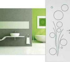 Porte de salle de bain et buanderie