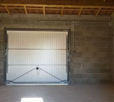 Installation électrique du garage terminé :)