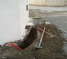 Décalage arrivée électrique portail