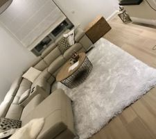 Nouveau tapis Maison du Monde pour le salon