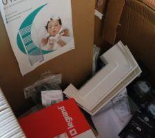 Livraison des accessoires électriques