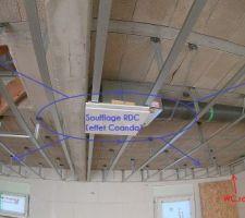 Réseau Gros diametre VMC double flux - Soufflage/extraction