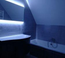 Installation meuble de salle de bain