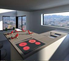 vue depuis la premiere version de la cuisine vraie vue depuis les fenetres