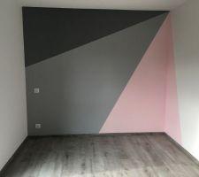 Chambre enfant 2 - Peinture ZOLPAN et Parquet ALSAPAN