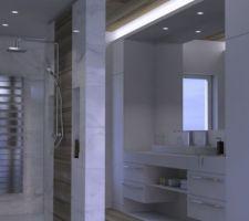 Salle de bain projet