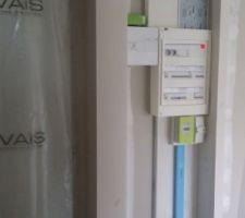 Consuel fourni + Electricité mise en service