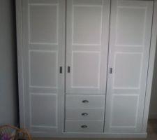 Montage de l'armoire: ça y est!!