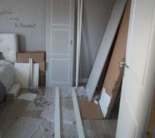 Montage de l'armoire!