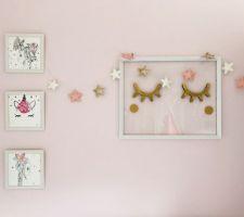 Décoration murale de princesse !