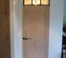 Porte des wc rdc