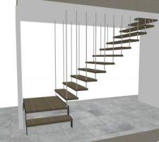 Le projet de l?escalier ascenco