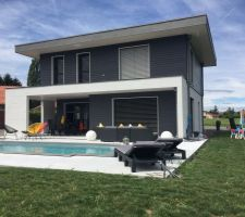 Rendu terrasse et piscine terminé !