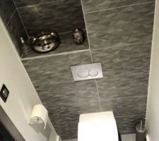 Toilette du haut identique à celle du bas