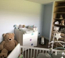 Chambre de mon fils et sont petit dressing