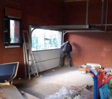 Montage porte de garage