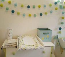 Chambre de notre petit Maël qui arrive dans un mois...
