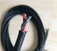 Cable HP arrière