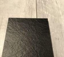 Choix plan de travail et table NOIR et meubles blanc