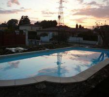 piscine un soir de mars 2009