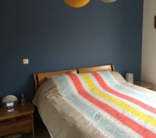 Notre chambre presque terminée... manque un petit fauteuil