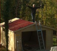 Chalet en bois 19,90..m2