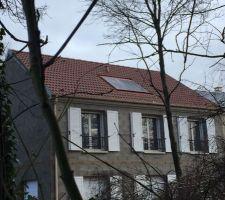 Panneaux photovoltaïques installés !