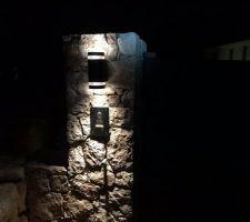 Visiophone et éclairage