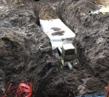 Evacuation des eaux pluviales dans le sol