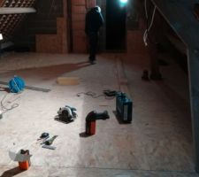 Etage - plancher OSB