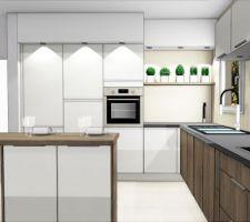 Notre future cuisine côté armoires