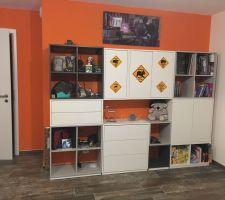 Installation de notre bureau : Armoire à goodies