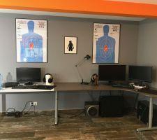 Installation de notre bureau