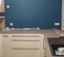 Carrosselier + meuble a épice + emplacement hote + plaque à induction