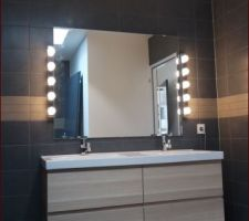 Salle de bain, carrelage et faïence Decoceram, ameublement Ikea