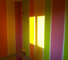 Chambre d'Eden peinte