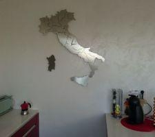 Horloge Italie Inox
