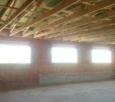 Hors d'eau : seconde toiture posée et aussitôt couverte