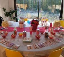 Table anniversaire de ma princesse :love: