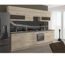 La cuisine serra en L car nous avons acheter de la même gamme 2 autres meubles bas