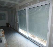 Baie vitrée salle de séjour