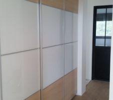 Portes dressing installées