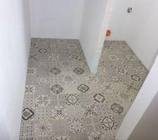 WC et débarras. Vinyle clipsable