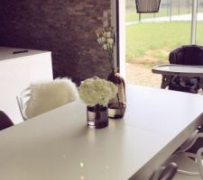 Vase table salle à manger
