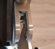 Vérification du serrage des pinces