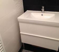 Salle d'eau chambre parentale: coin lavabo