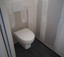 WC mis en place