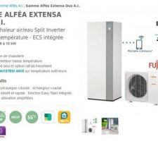 PAC Atlantic Alféa Extensa Duo AI air/eau Pilotable à distance